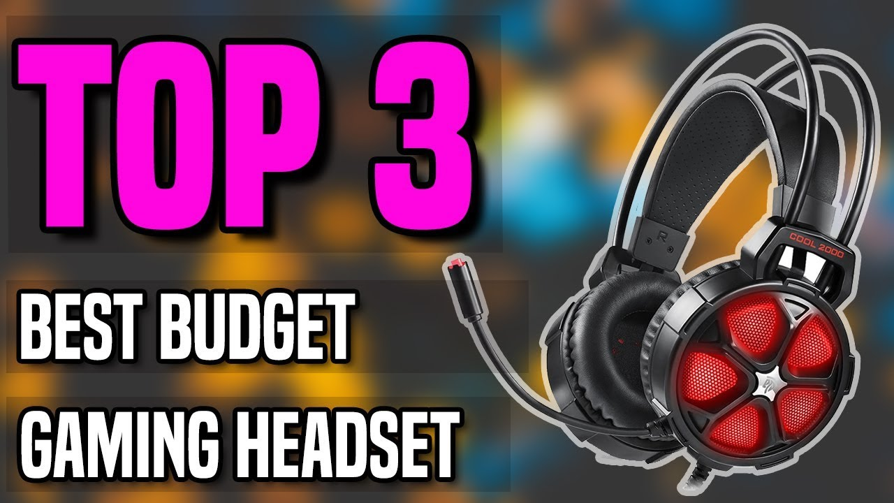Best Wireless Gaming Headset 2020.Top 3 Best Budget Gaming Headset 2020