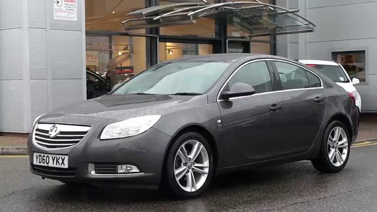 2010 60 plate vauxhall insignia 2 0 cdti sri 5dr in grey youtube. Black Bedroom Furniture Sets. Home Design Ideas