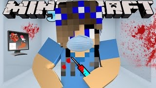 Minecraft Jobs-Little Carly Adventures-WORKING IN THE HOSPITAL w/Little Kelly.
