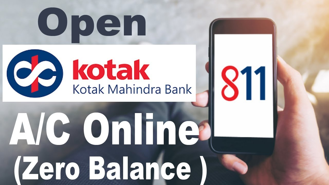 How To Open Kotak Mahindra Bank Account Online Youtube