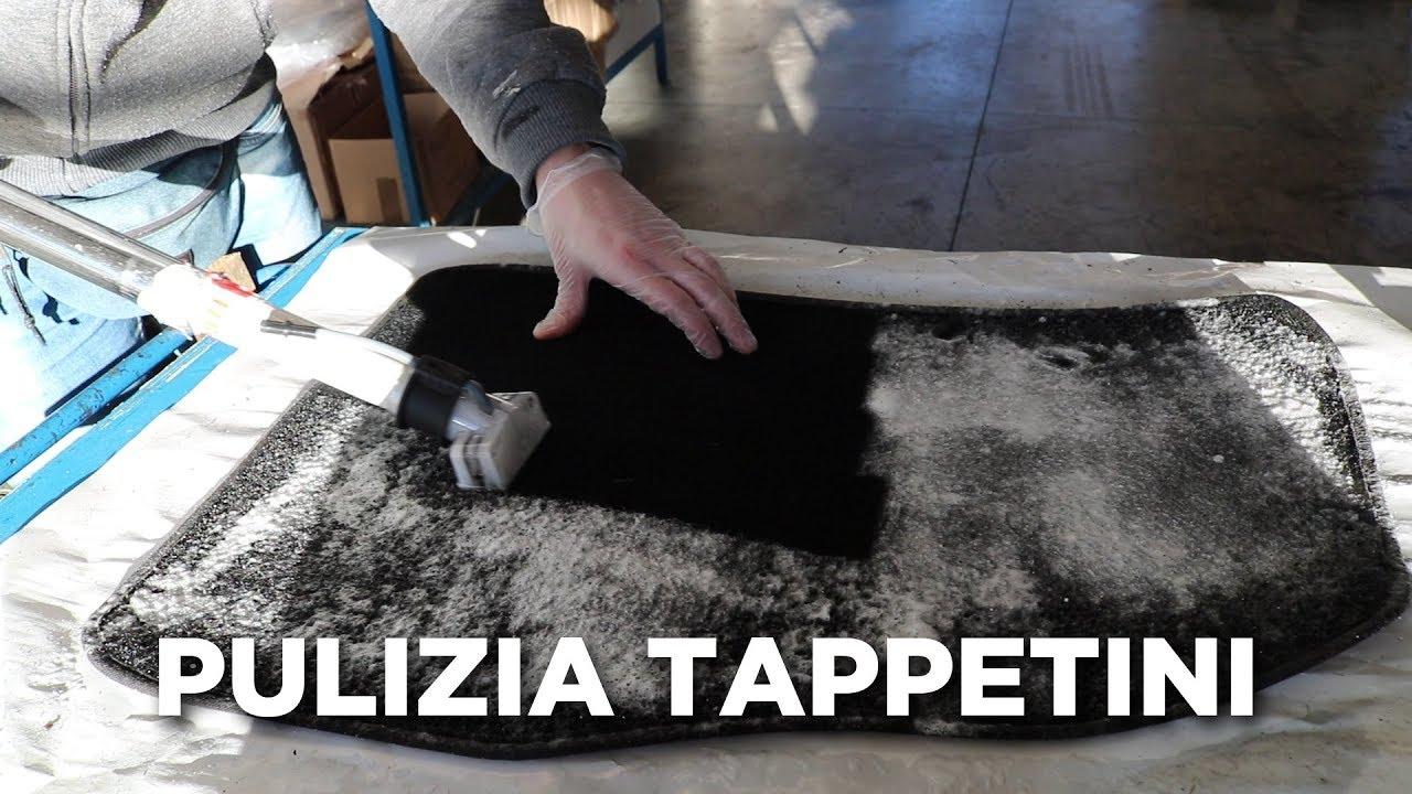 Come Pulire La Moquette.Pulizia Tappetini Moquette Auto Con Aspiraliquidi Youtube