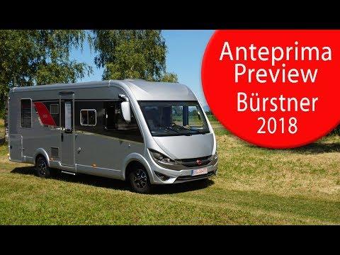 Anteprime Camper 2018: Bürstner - Motorhome Preview 2018: Bürstner