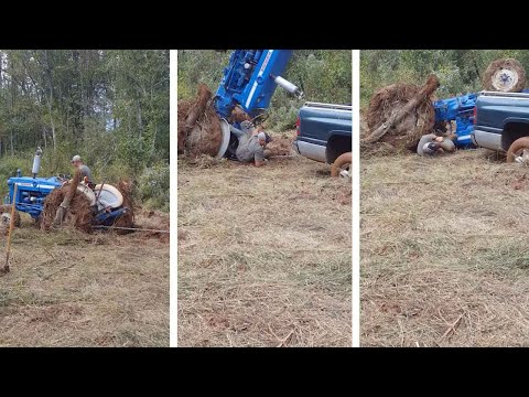 Crushed By Tractor