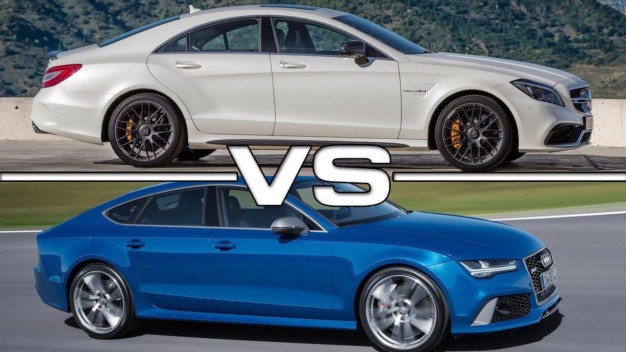 Audi A Vs Mercedes Cls