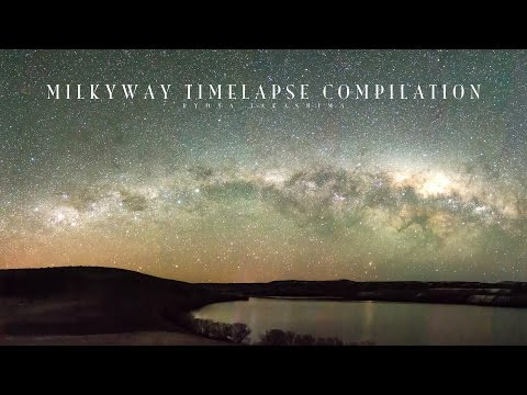 Milkyway Timelapse Compilation - 2016 - In 4K