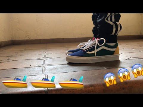 """26108c5e5ec275 VANS OLD SKOOL """"YACHT CLUB"""" ON FOOT - YouTube"""