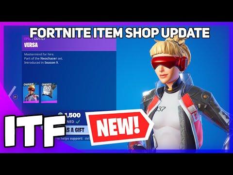 Fortnite Item Shop Update *NEW* RED VS. BLUE SHOP! (Fortnite Battle Royale)