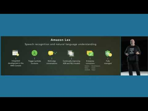 AWS Summit Series 2017 - San Francisco: Amazon Lex is now Generally Available