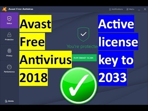 avast free antivirus software license key