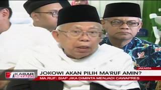 Download lagu Ditanya Soal Cawapres Jokowi, Ma'ruf Amin: Harus Siap