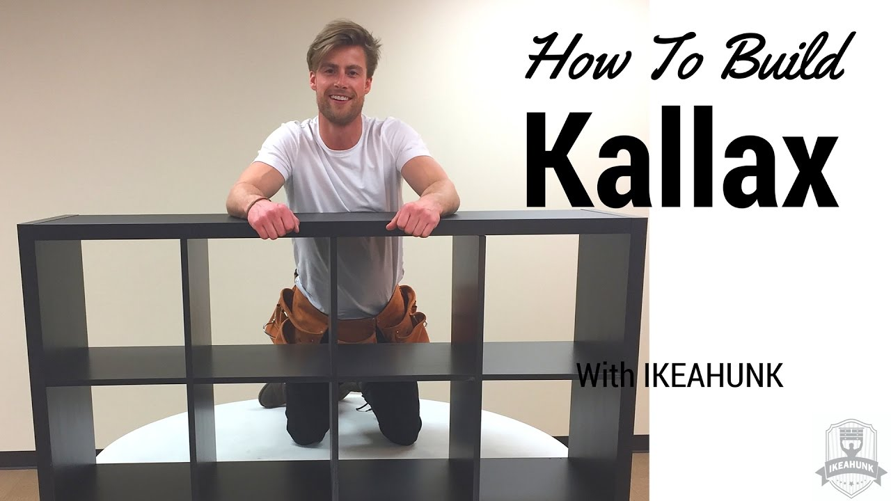 how to build ikea kallax