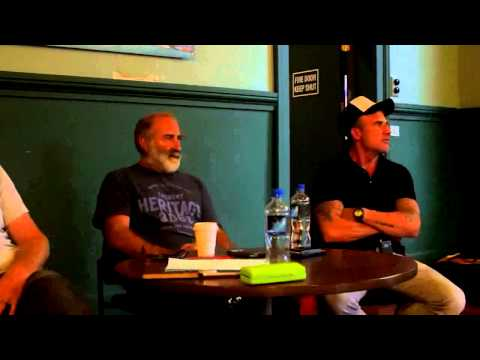 Actors Lab: talk with Peter Feeney, Dominic Purcell and Greg Johnson