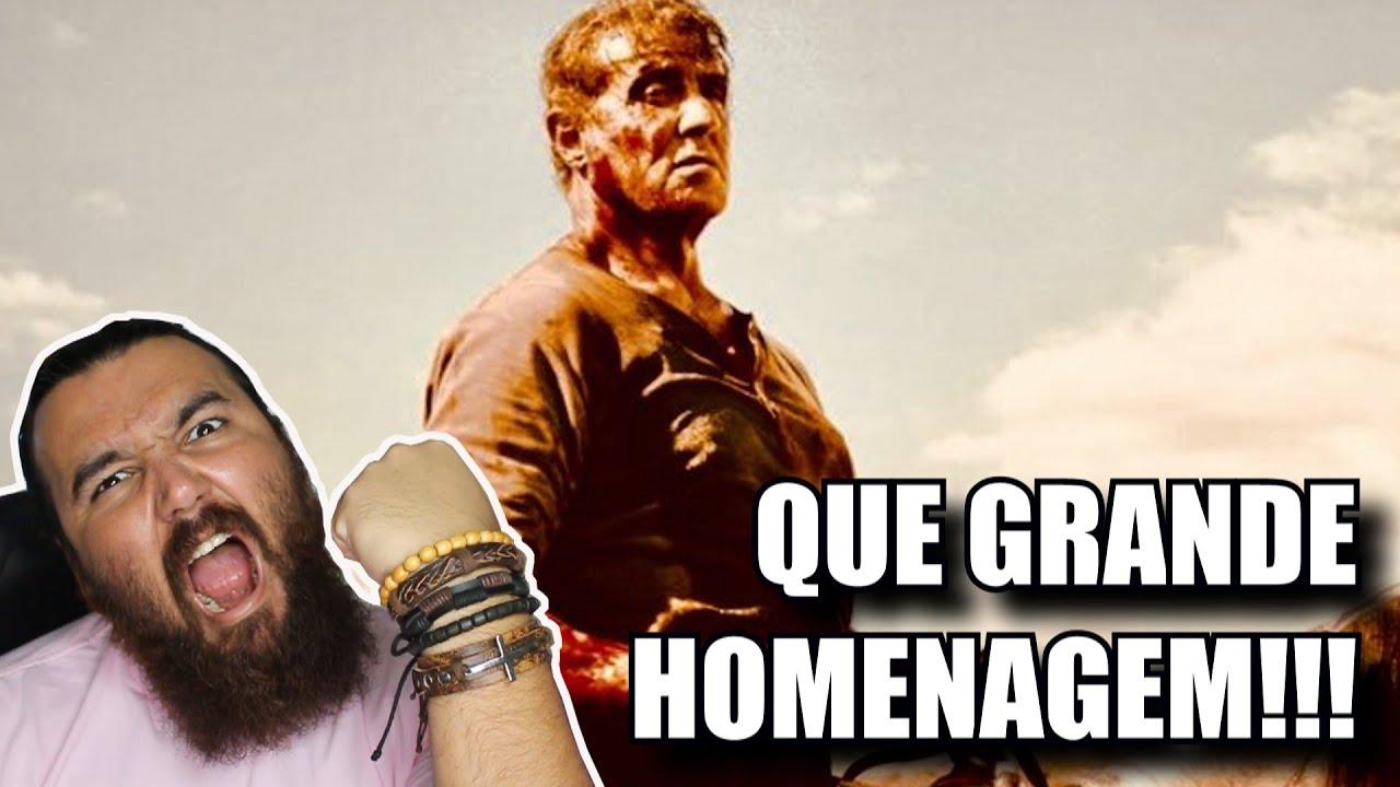 Trailer 2 Rambo: Até o Fim | Reação do Fã nostálgico - Esse filme será uma grande homenagem!