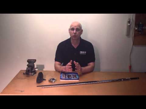 How To Assemble A Custom Golf Club Part 3 - How To Read Golf Shaft Trimming Instructions