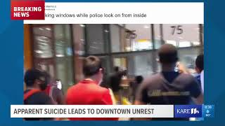 LIVE: Update on developing situation in downtown Minneapolis