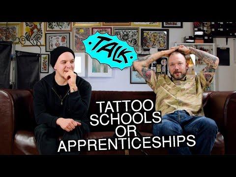 Tattoo Shop Talk - Apprenticeship vs Tattoo School