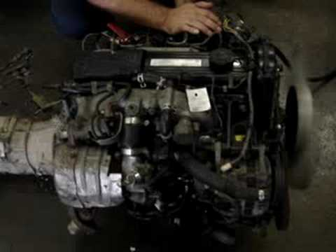 MAZDA RF TURBO RWD DIESEL ENGINE S/N 570157 - YouTube