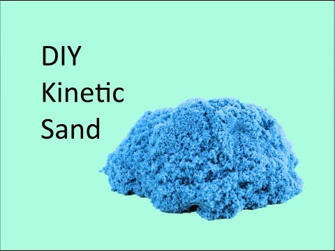 diy kinetic sand youtube. Black Bedroom Furniture Sets. Home Design Ideas