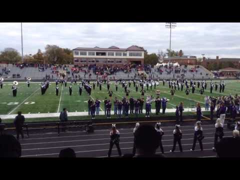 Mt Union Band Oct 26, 2013 Homecoming