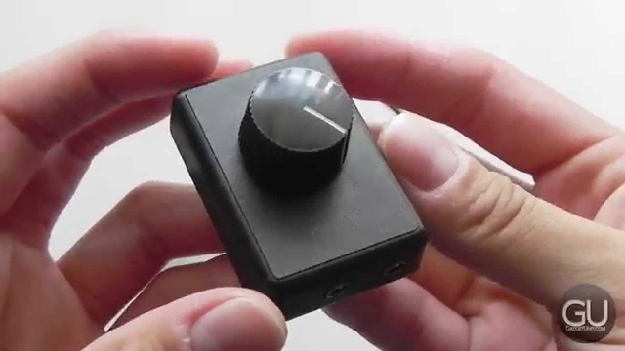 review volbox a simple audio volume control knob for anything youtube. Black Bedroom Furniture Sets. Home Design Ideas