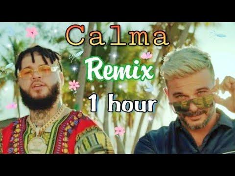Pedro Capó, Farruko - Calma ( Remix ) ||  1 HOUR 💎