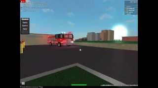 Roblox Chicago Fire Department Squad 3, Engine 18 and Truck 81 Responding