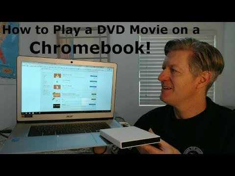 Play DVD Movies On Chromebooks With VLC And Any Ext. DVD Drive