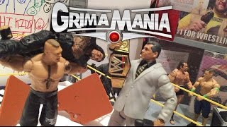 GTS WRESTLING: WrestleMania 31 PARODY PPV EVENT Figure Matches Animation! Mattel Elites