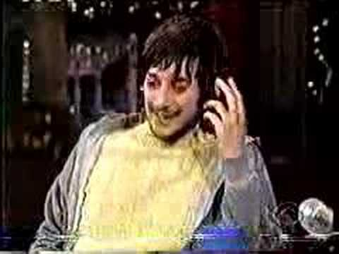 harmony korine on david letterman