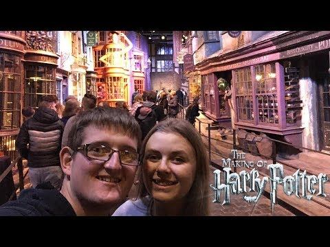 Warner Bros. Studio Tour Vlog - The Making Of Harry Potter J