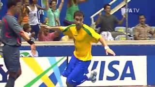 Highlights: Russia v. Brazil - FIFA Futsal World Cup Brazil 2008