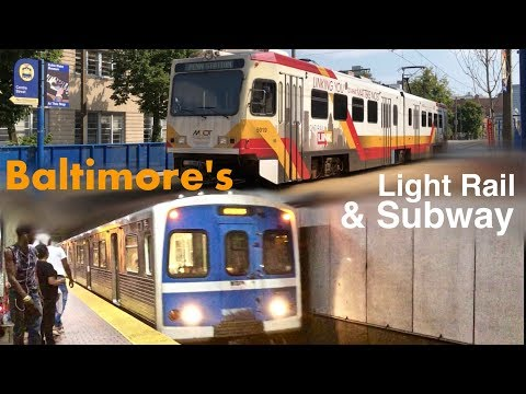 Riding The Baltimore Subway & Light Rail Lines