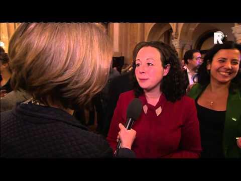 D66-partijlleider Belhaj over de winst in Rotterdam van haar partij
