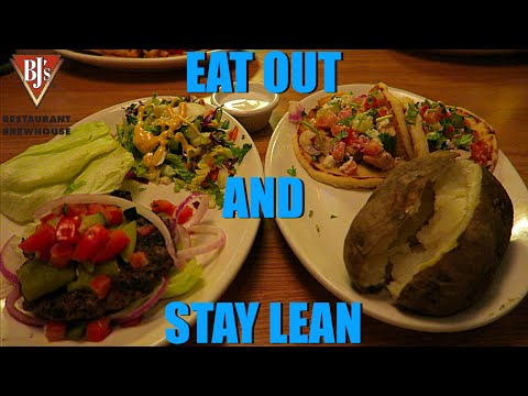 Eating Out And Staying Lean : BJ's Restaurant Cutting Meal | HenryBeFit
