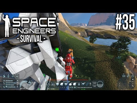 Space Engineers - Survival - Ep 35 - On the Edge!