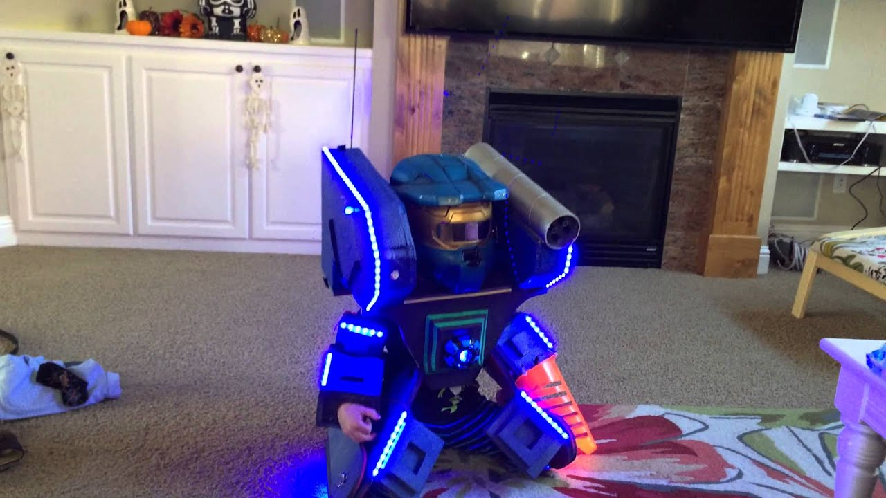 Mech Robot Kids Halloween Costume custom build quick 5 35 if