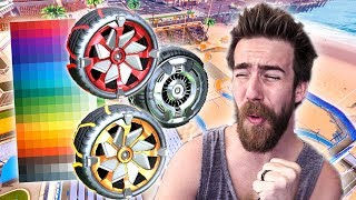 """SHOWING OFF ALL THE """"BEACH BLAST"""" PAINTED WHEELS!"""