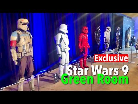 Star Wars 9 Green Room EXCLUSIVE!