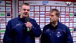 Coaches Corner - Adler Mannheim vs. Schwenninger Wild Wings am 01.01.2015