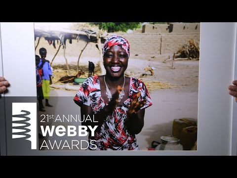 United Nations Population Fund's 5-Word Speech at the 21st Annual Webby Awards