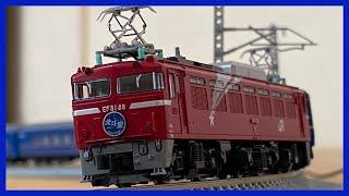 【Nゲージ】KATO 寝台特急北斗星(デラックス編成) EF81&24系 鉄道模型走行動画#29