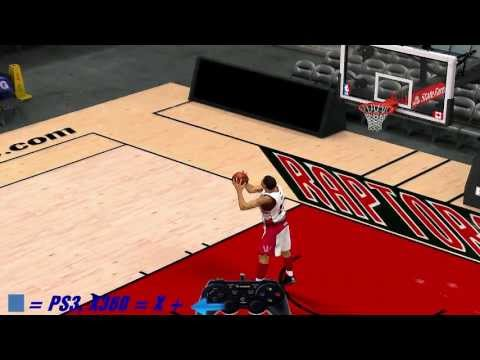 NBA 2K14 How To Do 360 Dunk