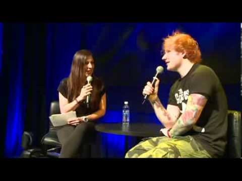 Ed Sheeran  - Radio webstream - Toronto 14/06/13