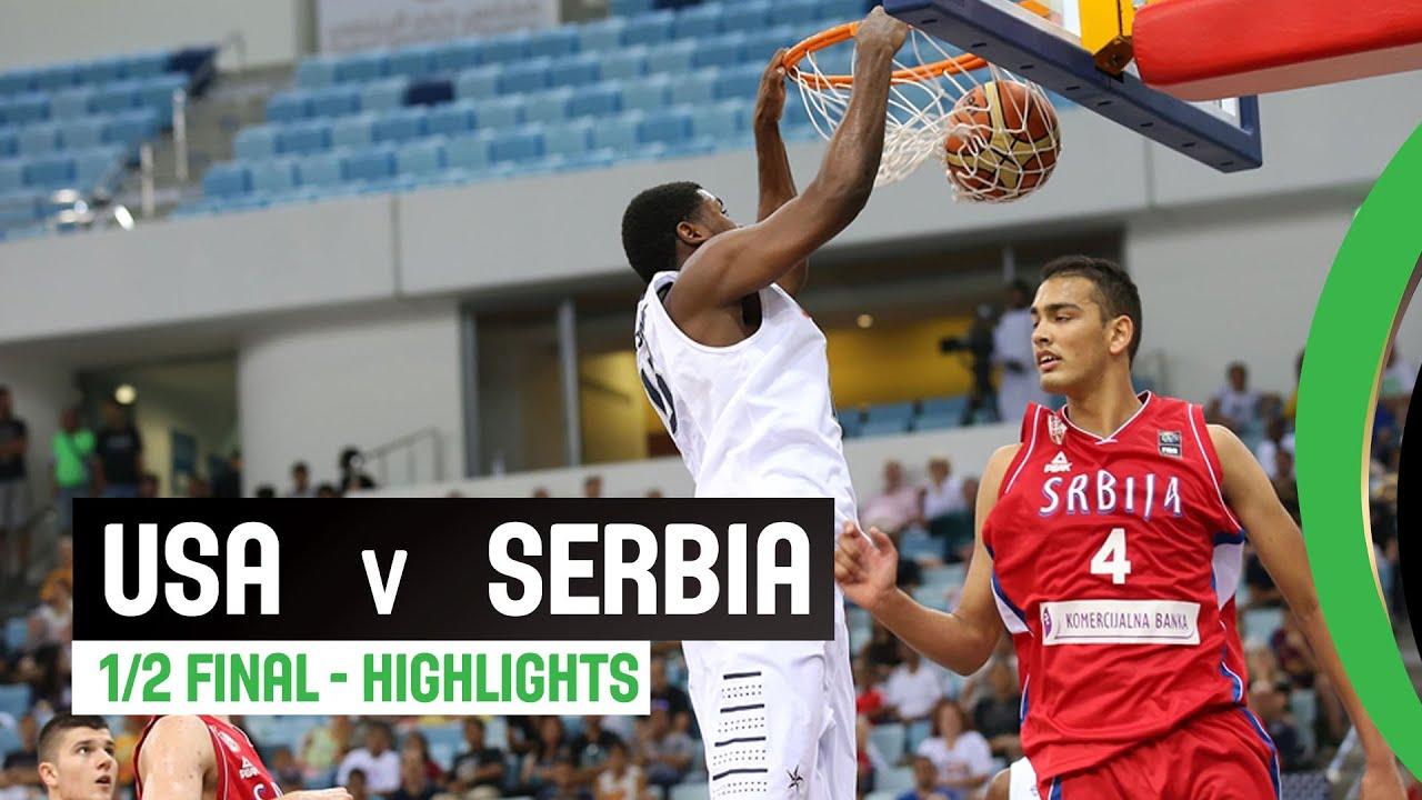 USA v Serbia - Semi Final Highlights