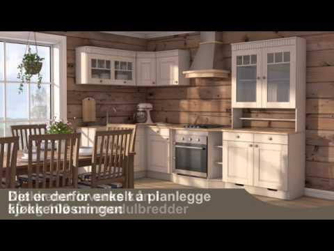 Saga hyttekjøkken fra hyttetorget   youtube