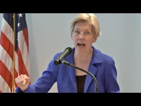 Sen. Elizabeth Warren's Brilliant Speech on President-elect Trump