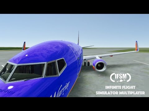 Infinite Flight Southwest Airlines Boeing 737 - 800 - KDEN - KASE