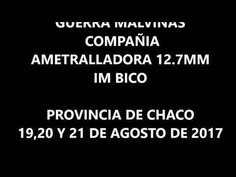 ENCUENTRO ANUAL,COMPAÑIA AMETRALLADORA  12.7MM ,HÉROES DE MALVINAS
