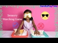 DIY Sensory Activities For Kids|PLAY|Matching Games|Nanduplaytime
