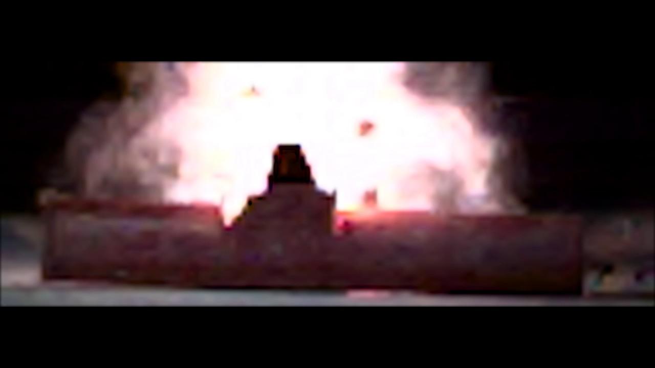 Firecracker Explosion at 1,000,000 Million Frames Per Second - Ultra Slow Motion